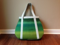 Modern Tear Drop Tote