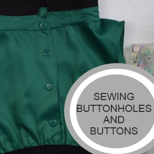 How to Sew Buttonholes on Your Sewing Machine - Tutorial