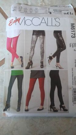 Pants from View A