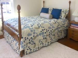 Bedroom Set • Comforter • Skirt • Pillow Shams from The Sewing Loft of Avon