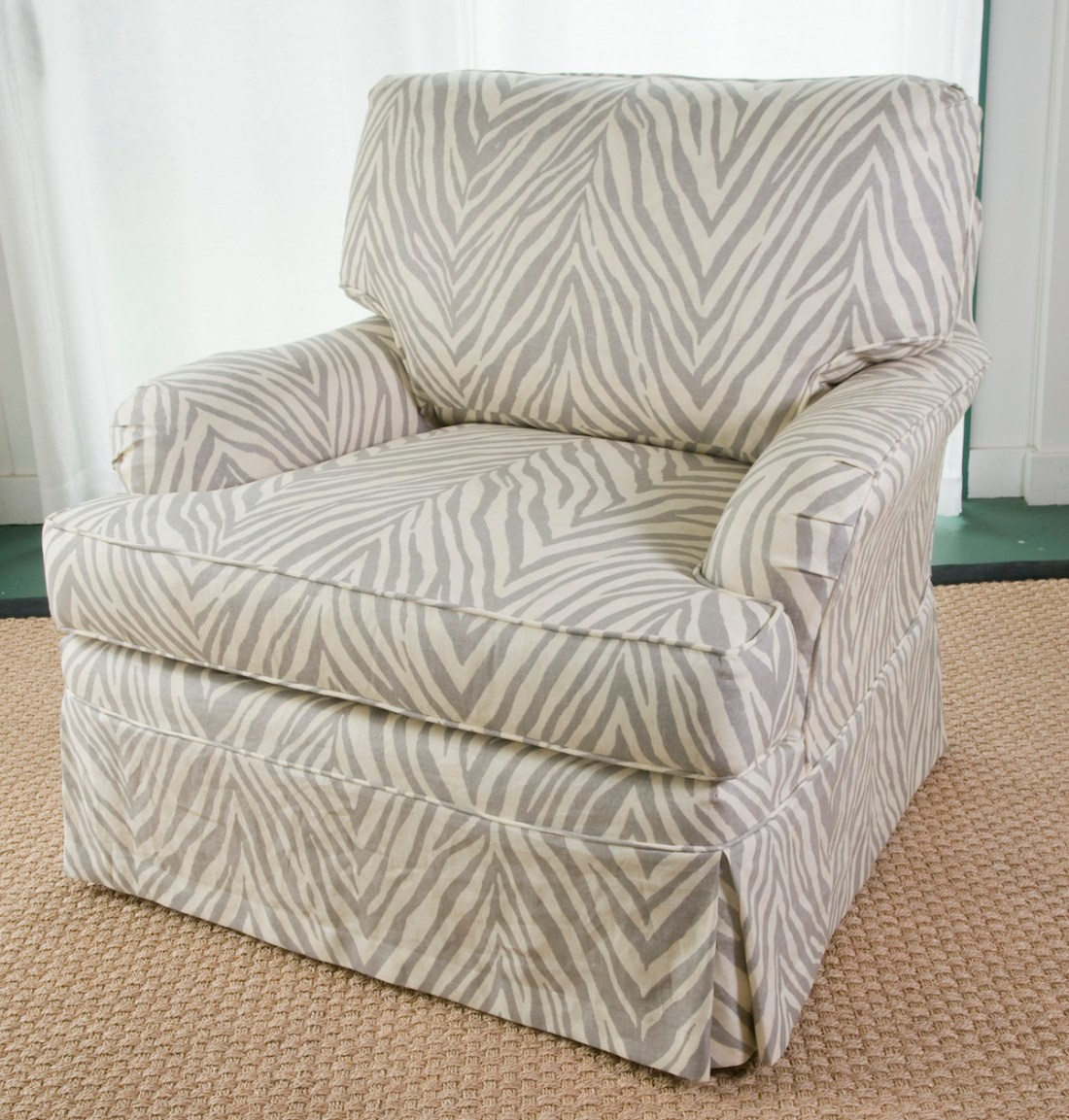 Animal Print Slipcover