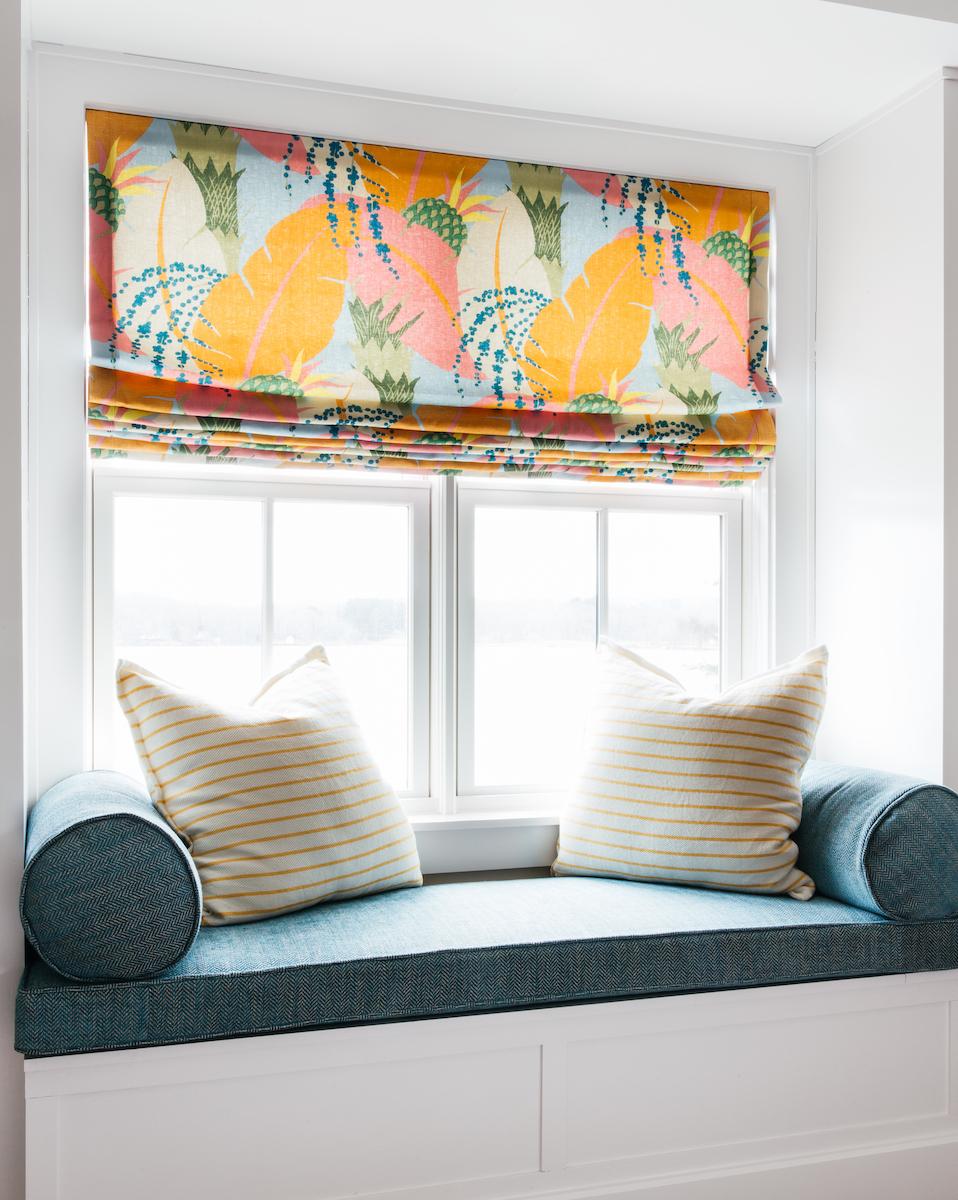 The Sewing Loft of Avon creates custom pillows and cushions
