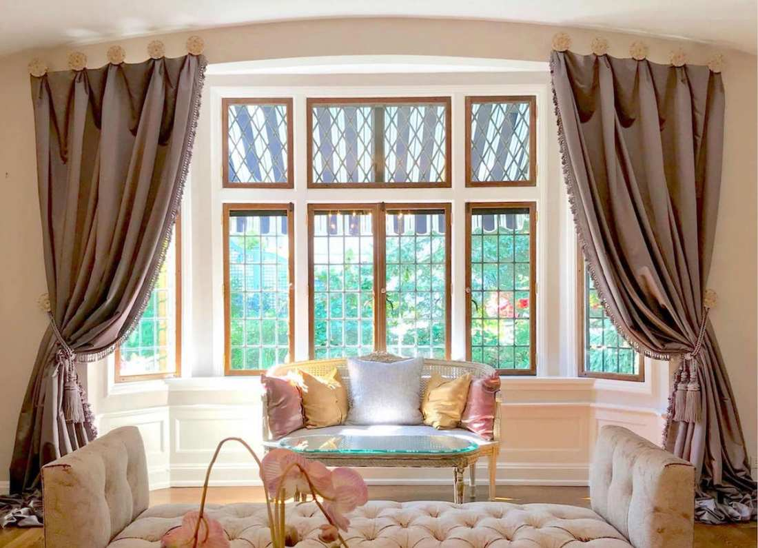 Window Treatments from The Sewing Loft of Avon