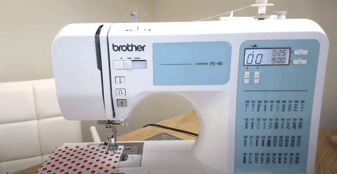 Brother Fs40 Computerised Sewing Machine Review sewingmachineopinions