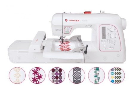 Singer Futura XL580 Embroidery Sewing Machine