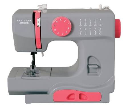 janome-graceful-gray-basic-easy-to-use-10-stitch-portable