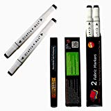 Crafts 4 All Dual-Tip Permanent Fabric Markers