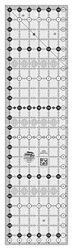 """Creative Grids 6.5"""" x 24.5"""" Rectangle Quilting Ruler Template CGR24"""