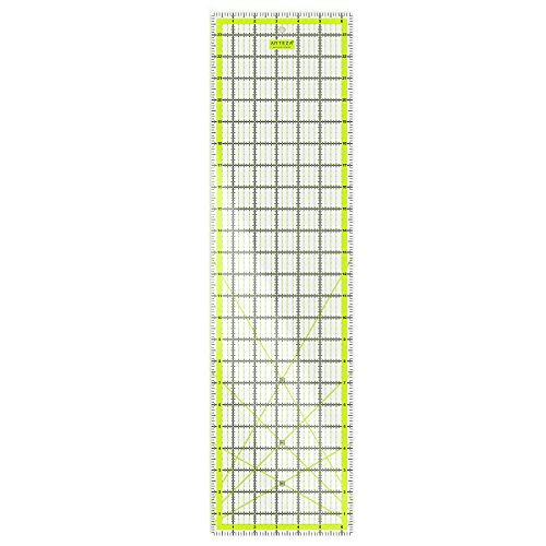 "ARTEZA 6.5"" x 24"" Quilting Ruler"