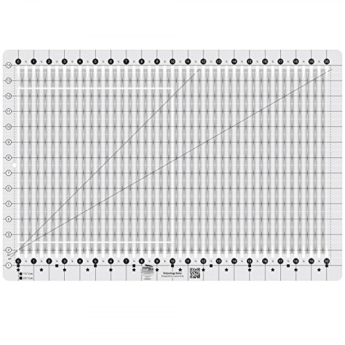 Creative Grids Stripology Quilting Ruler Template CGRGE1