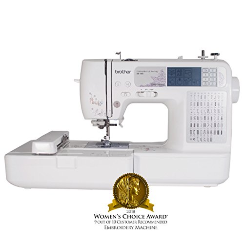 Brother SE400 Combination Computerized Sewing and Embroidery Machine