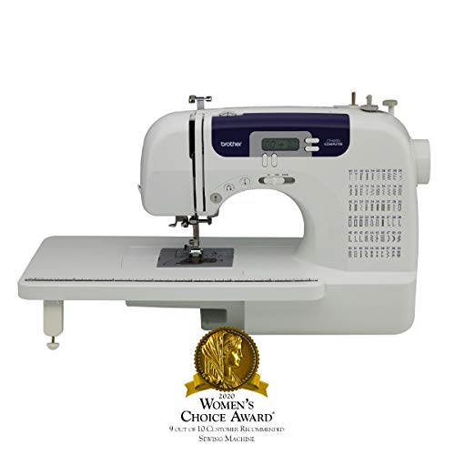 Brother Computerized Sewing and Quilting Machine, CS6000i