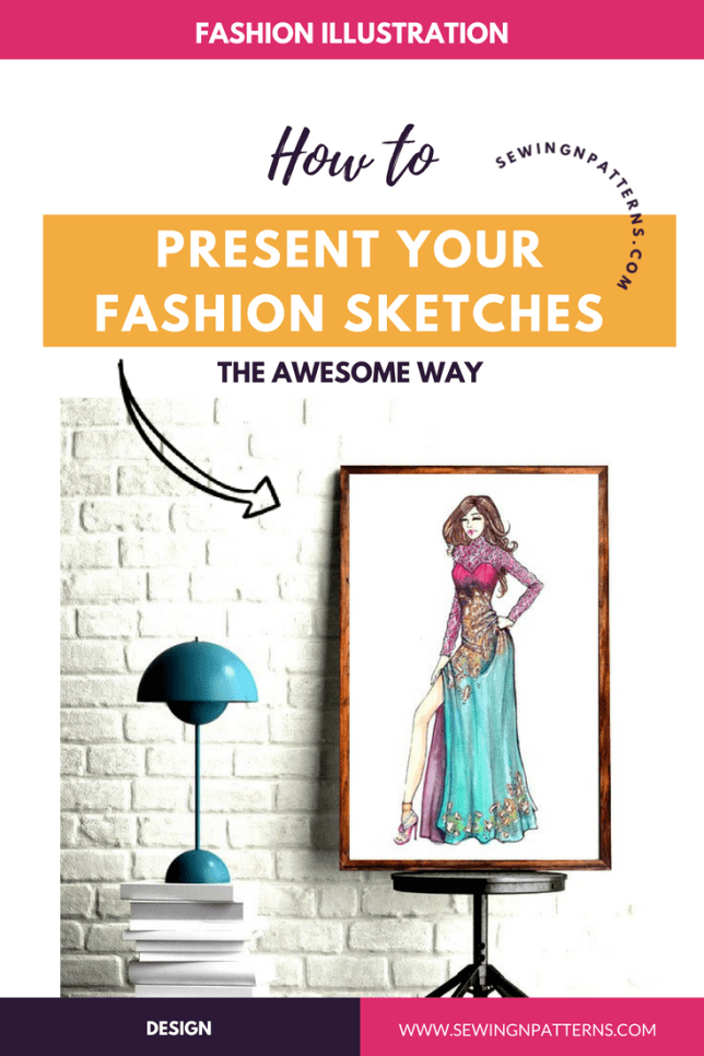 Wanna show your fashion sketches more beautiful way? Here I share my one of the 3 techniques that helps you present the fashion design sketches in better way. (how to draw fashion design sketches, fashion design illustrations, fashion illustration techniques, step by step fashion illustration sketches, fashion sketches ideas)