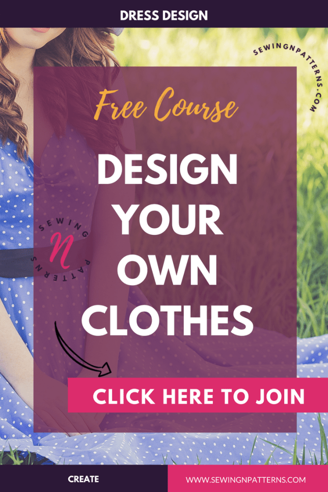 """Free 3 days course on how to desoign your own clothes. This is for sewing beginners, fashion designers, who loves to sew with sewing patterns, fashion illustrations, basically anyone who want to learn how to design clothes and be their own fashion designer. This course gives you the foundation, ideas and techniques on choosing the colors that actually suit you, understanding your body and designing clothes according to it. I even put some pattern making techniques to help you draft and create your own dress. """" I believe, designing your own clothes is not about beautiful clothes, it's about the clothes that actually suits you and turn you into beautiful you."""