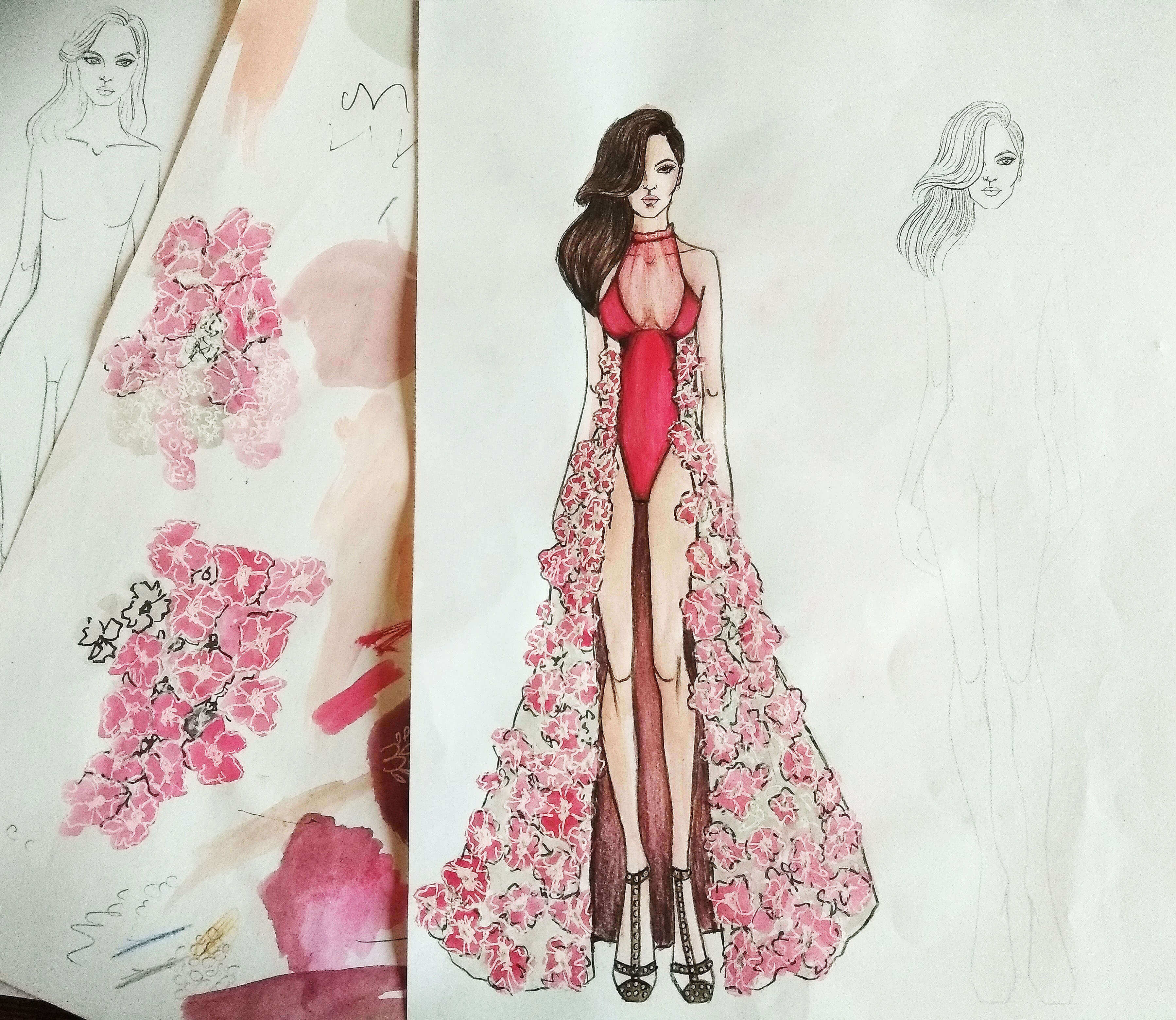 How To Draw A Fashion Sketches Like A Fashion Designer In