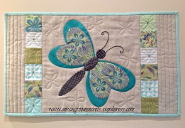 Butterfly table topper2