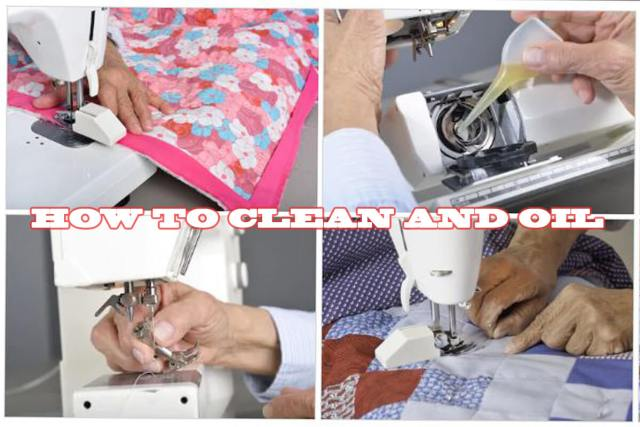 How to Oil a Sewing Machine