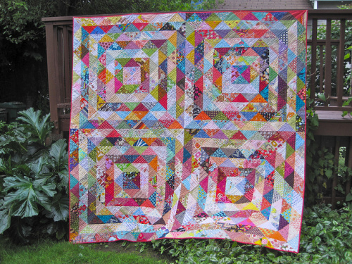 SEW KATIE DID:Value Quilt on point