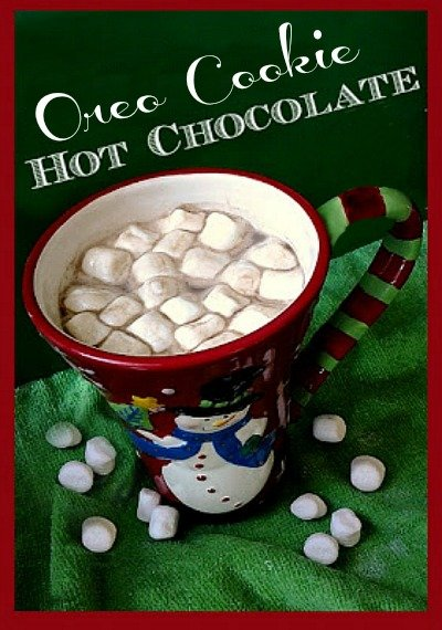 oreo cookie hot chocolate