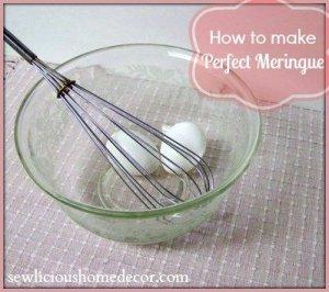 meringue tutorial