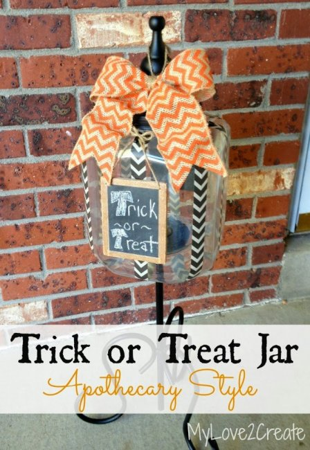 MyLove2Create, Trick or Treat Jar pin