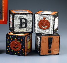 halloween boo cubes