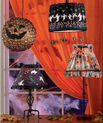 halloween lampshades