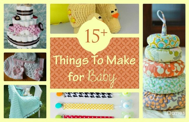 15 plus things to make for a baby at sewlicioushomedecor