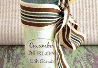 Cucumber Melon Sugar Scrub sewlicioushomedecor.com