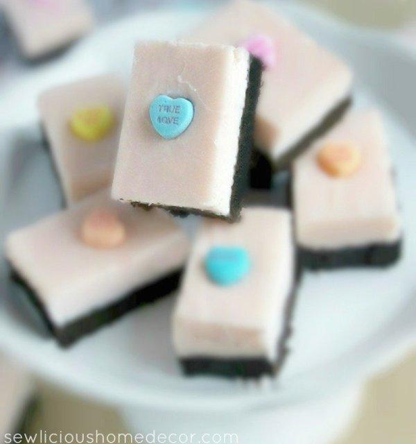 Oreo Valentine Fudge