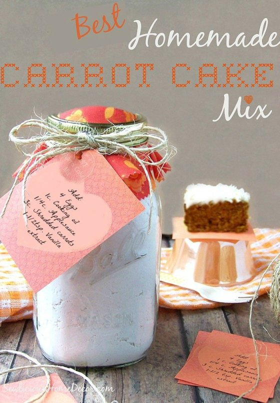 Best Homemade Carrot Cake Mix