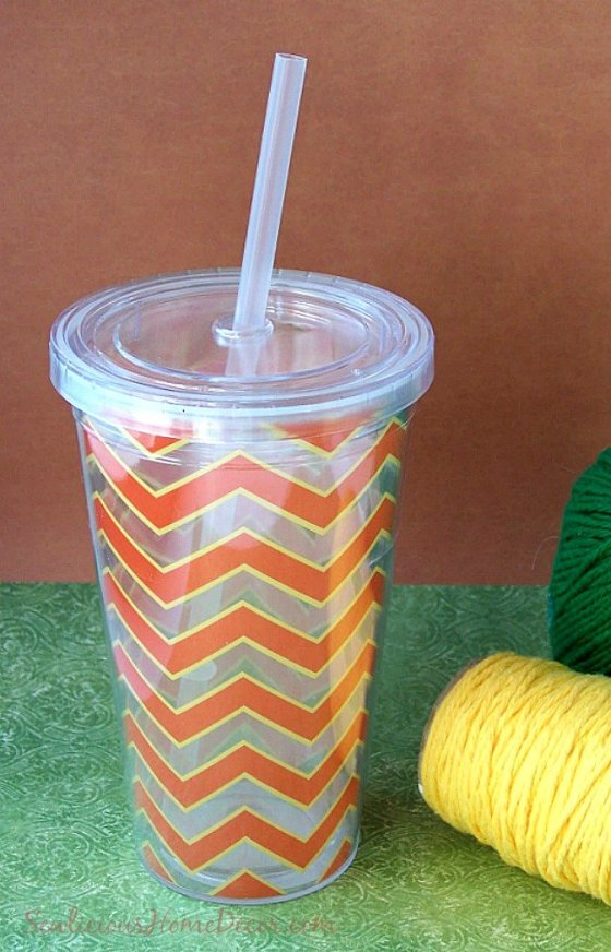 DIY Cup to Yarn Container