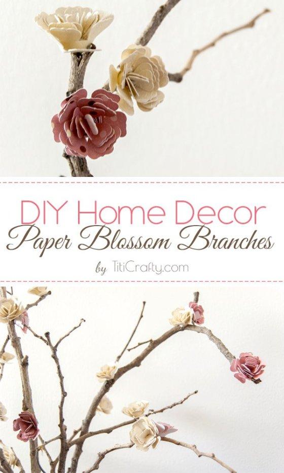 DIY-Home-Decor-Paper-Blossom-Branches-Tutorial