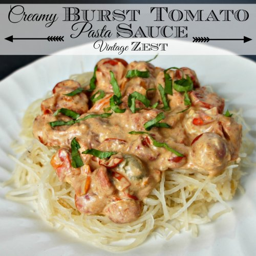 Creamy Burst Tomato Pasta Sauce 1