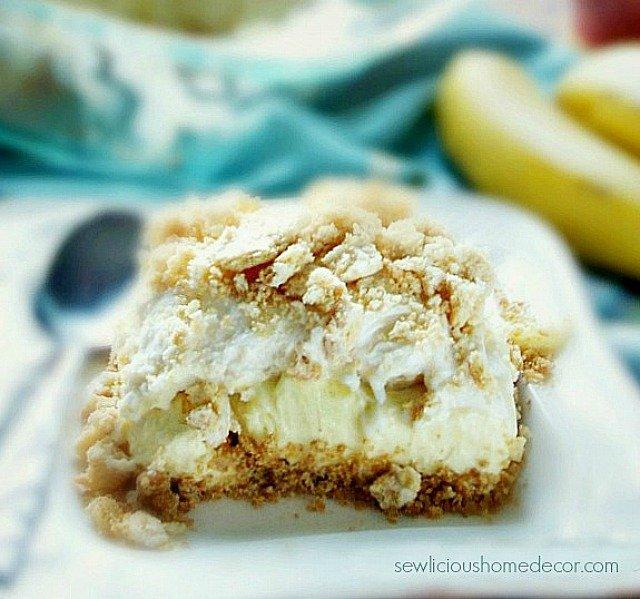 Easy No Bake Banana Pudding Dessert