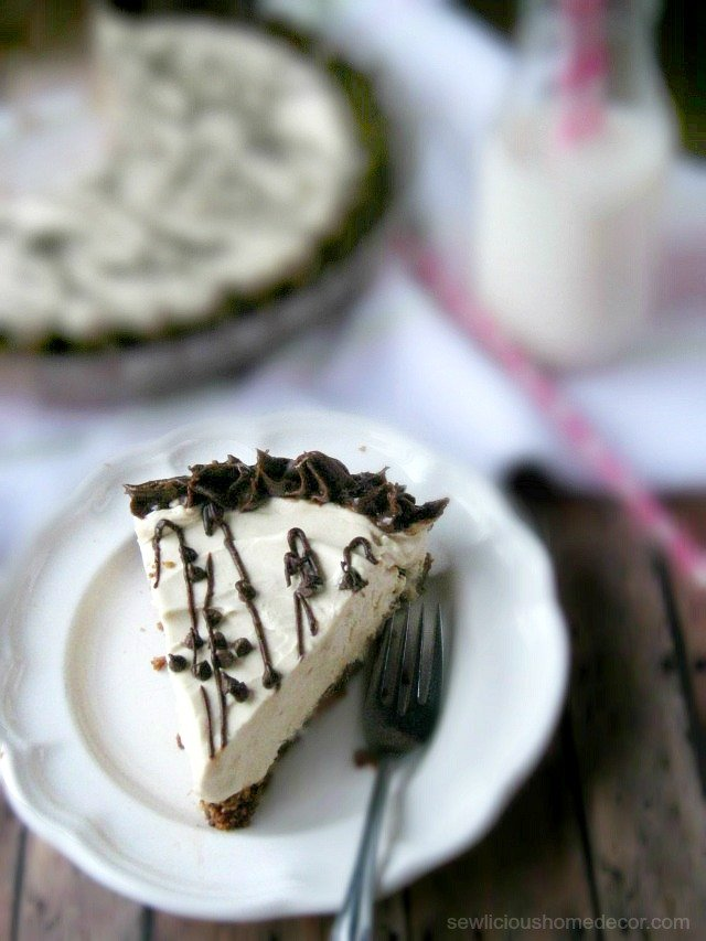 Easy no bake peanut butter pie