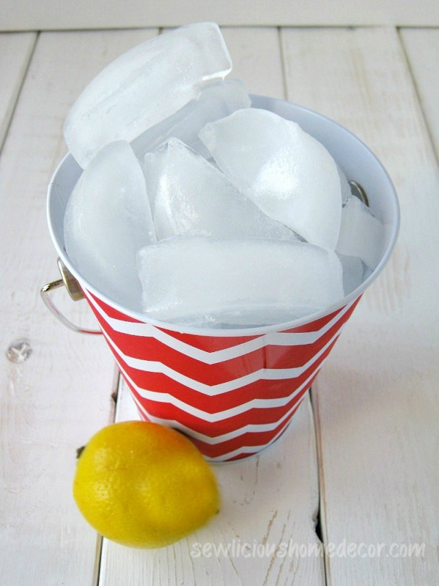 bucket of ice clean garbage disposal sewlicioushomedecor.com