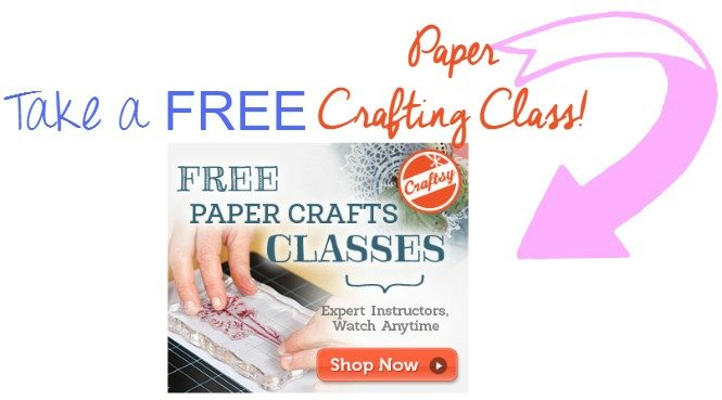 take a free paper crafting class sewlicioushomedecor.com