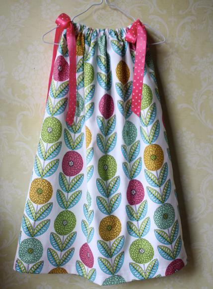 Serged Pillowcase Dress | Sew Like My Mom