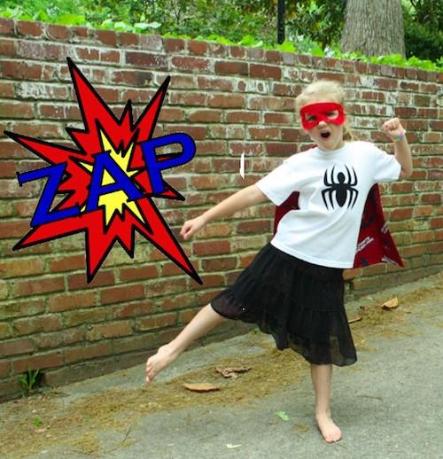 Sew Like My Mom | Superhero Shirt Tutorial