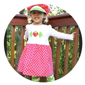 Sew Like My Mom | Strawberry Shortcake Tutorial