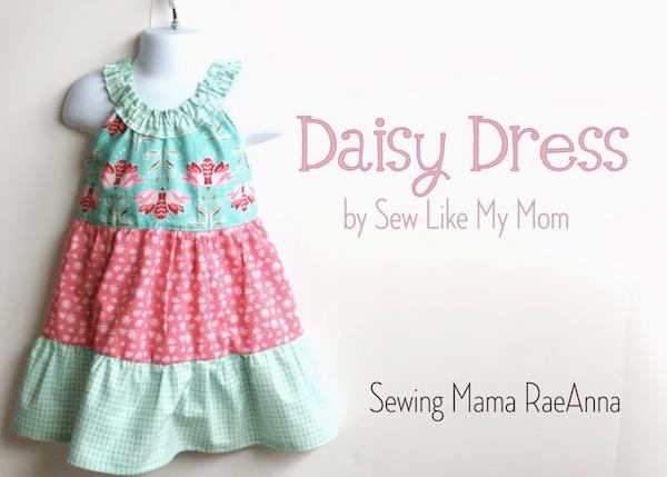 Sewing Mama RaeAnna   Darling Daisy Dress review