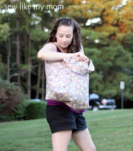 The Polly Tote | Sew Like My Mom