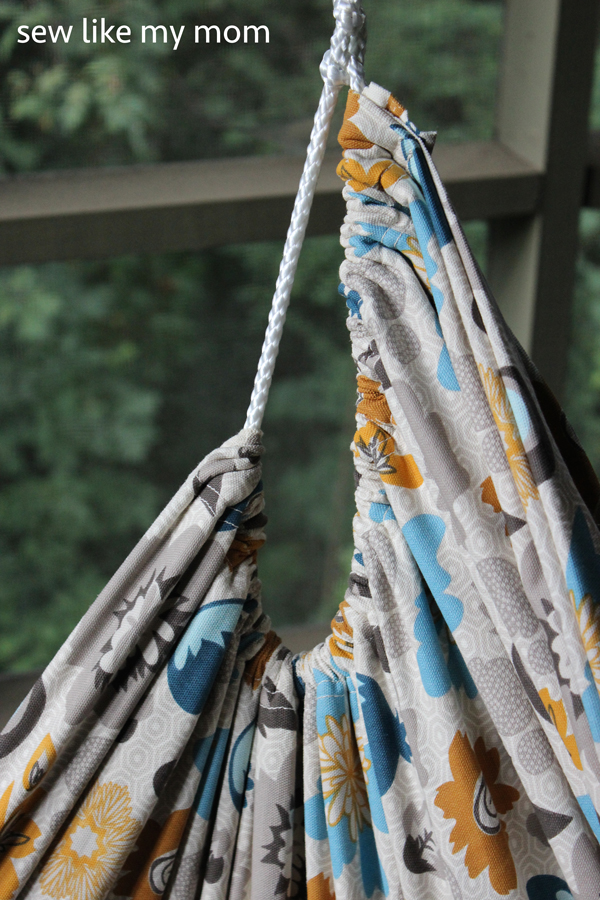 Sew Like My Mom | Hammock Chair