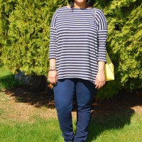 Tessuti Mandy Boat Tee: FREE DIY T Shirt Sewing Pattern