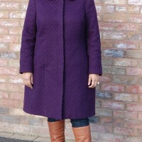 McCalls 7058: DIY Basket Weave Wool Winter Coat