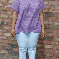 Love Sewing Magazine Bexley Smock Top: DIY Linen High Low Hem Top