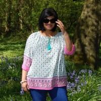 Pauline Alice Eliana Dress Hack: DIY Peasant Boho Tassel Top