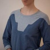 Sew Mariefleur Zircon Sweater