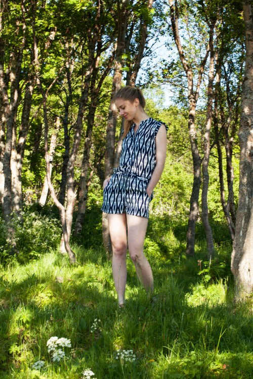 Sew Mariefleur Sanibel Romper Hey June